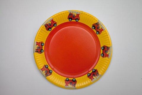 Paper plates - Party program
