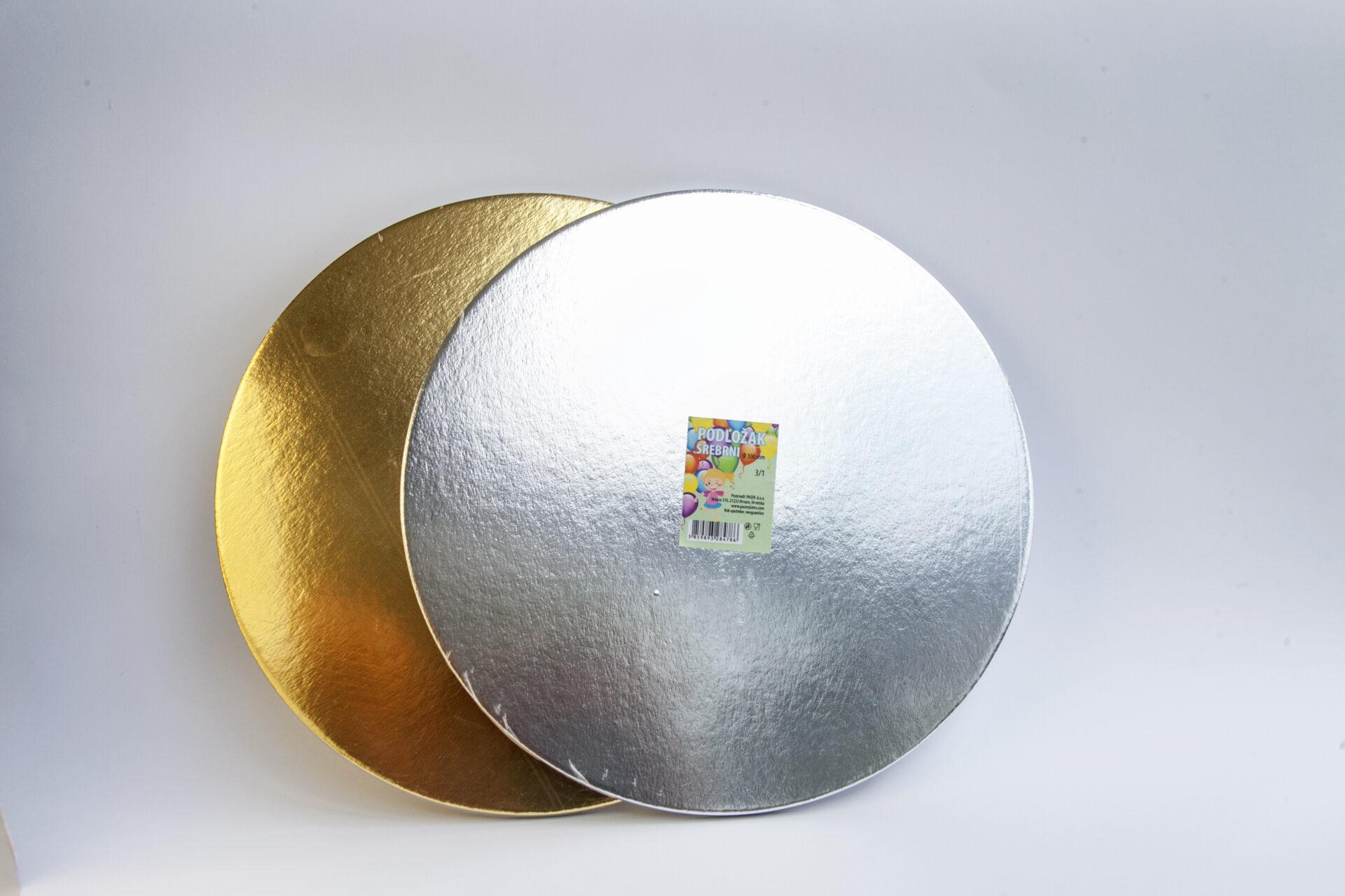Podložak srebrni i zlatni fi 280