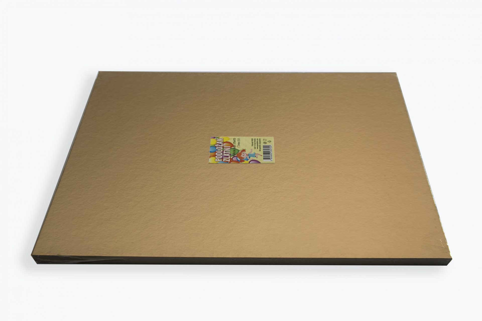 Cake base boards, gold and silver